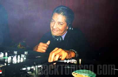 Frank Del Rio spinning it on the turntables.